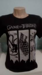 camiseta game of thrones season  blusa feminina game of thrones season