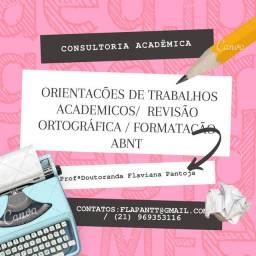 Trabalhos Acadêmicos / Formatação Abnt / Tcc / Orientações