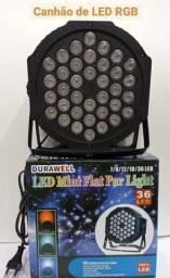 Canhão RGB de 36 LED