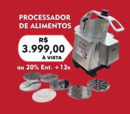 Processador de alimentos com 7 discos - SKYMSEN - JM