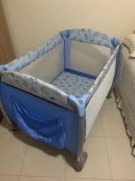 Berço Nanna Burigotto Azul Completo