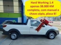 Título do anúncio: Fiat Strada Hard Working 1.4 completa, apenas 38.000 km, placa B, revisada e periciada!