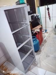 Armário gaveteiro de ferro