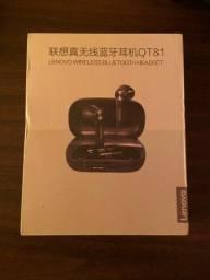 Título do anúncio: Fone de ouvido sem fio Lenovo QT81 - Novo