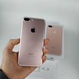 Título do anúncio: iPhone 7 Plus 128GB Rose - Excelente! Com Garantia