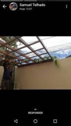 Faço envernizamento  telhados etc