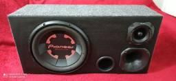 """Sub 12"""" Pioneer caixa nova top"""