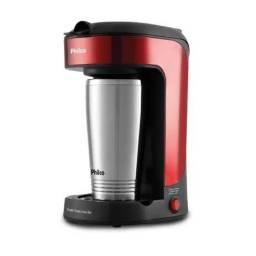 Cafeteira Philco Single Thermo Inox Red