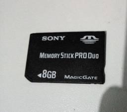 Cartão de memória 8gb para PSP (11 JOGOS)