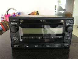 Radio e Toca CD da Hilux 2009 Original