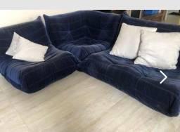 Sofá modular ToGo azul marinho