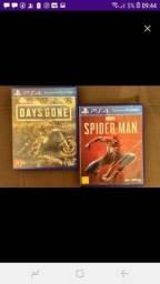 Daysgone e Spider man ps4