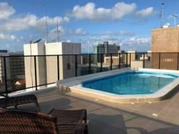 Home flat todo mobiliado a 200m² da praia de Cabo Branco - Cod Pod 2965