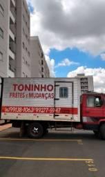 Toninho mudanças e viagens para todo estado de São Paulo *