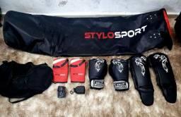Saco De Box + Kit Muay Thai