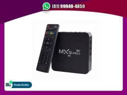 Título do anúncio: TV Box Mxq Pro 5G 4GB - 32GB