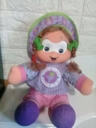 Boneca rosinha turma da Mônica Baby