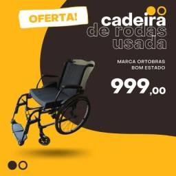 Título do anúncio: Cadeira de rodas ortobras
