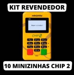 Título do anúncio: 10 minizinha chip2 em atacado, novas