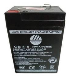 Bateria Recarregável 6 Vdc / 4 AH Multiuso Para Balanças
