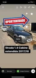 Título do anúncio: Fiat Strada 1.4 cabine estendida 2017/18 Completa