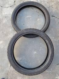 Vendo pneus honda fan