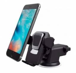 Suporte Celular GPS Carro Resistente Firme Haste Ajuste Prolongável Rotação 360 Base