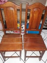 Título do anúncio: Cadeiras de madeira Angelin pedra