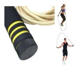 Título do anúncio: Corda de Pular Profissional Treino Jumpe Rope<br>