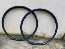 Par de pneus kenda kwick bitumen 700x35 gravel urbana