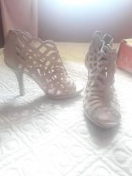 Sandália rosa seco