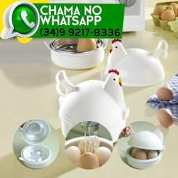 Galinha para Cozinhar Ovos no Microondas * Até 4 Ovos *