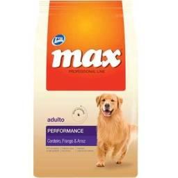 20kg Ração Max Cães Adultos Raças Grandes - Sabor Cordeiro, Frango e Arroz