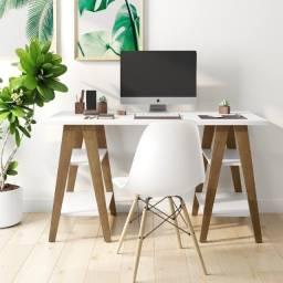 Título do anúncio: Mesa Escrivaninha Cavalete- Entrega Gratis (JP Mòveis Online)