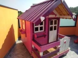Título do anúncio: Casinha de Madeira Infantil