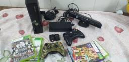 Título do anúncio: Xbox 360 com kinect