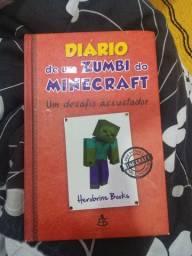 Livro Diário de um Zumbi do minecraft, Um desafio Assustador.