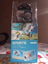 Câmera 4K com WI-FI e controle remoto a prova de água