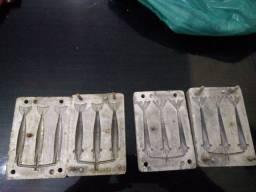 Forma para fabricação de camarão artificial