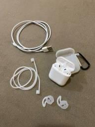 Título do anúncio: Apple Aipords 2 + acessórios