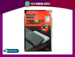 Título do anúncio: Power Bank Bateria Portátil 20000 Mah Pineng