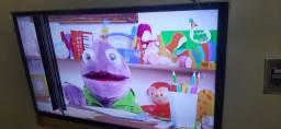 Título do anúncio: Tv sansumg smart C uma.listra fora isso toda.boa