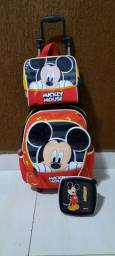 mochila do mickey + Lancheira