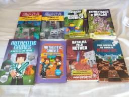 8 livros Minecraft
