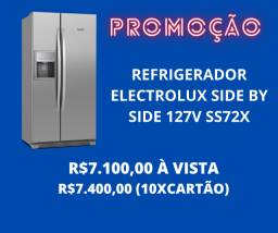 Geladeira Electrolux Side By Side 127v ss72x