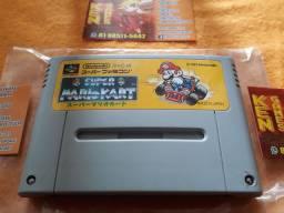 Vendo Cartucho original Japonês de Super Mario Kart!!!