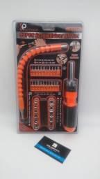 Kit chave socket 43 peças//adquira já entrega