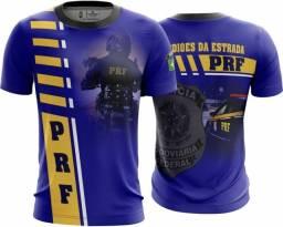 Camiseta Camisa Policia Rodoviaria Federal Prf(uso Liberado)