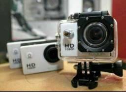 Mini Câmera Filmadora HD tipo GoPro só R$130 EletroFox r.pe Belchior 307c Centro