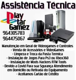 Assistência Técnica de VideoGamez e Controles Atendimento a Domicilio